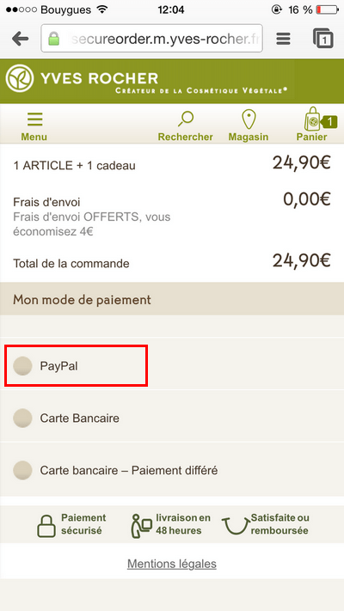 Convertir ses visiteurs mobiles : proposer un mode de paiement simplifié
