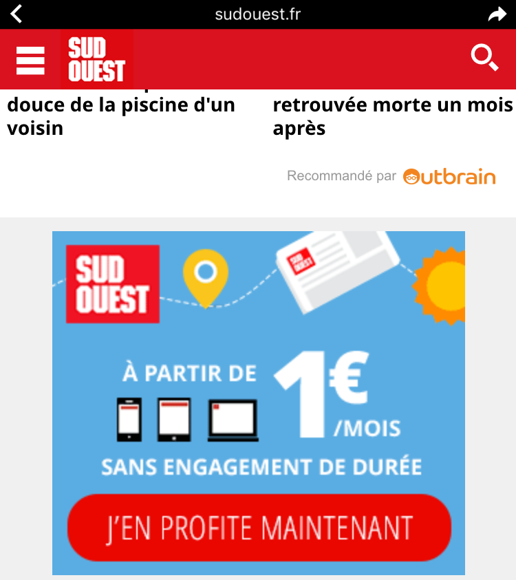 Facebook Instant Article : la possibilité d'ajouter un call-to-action