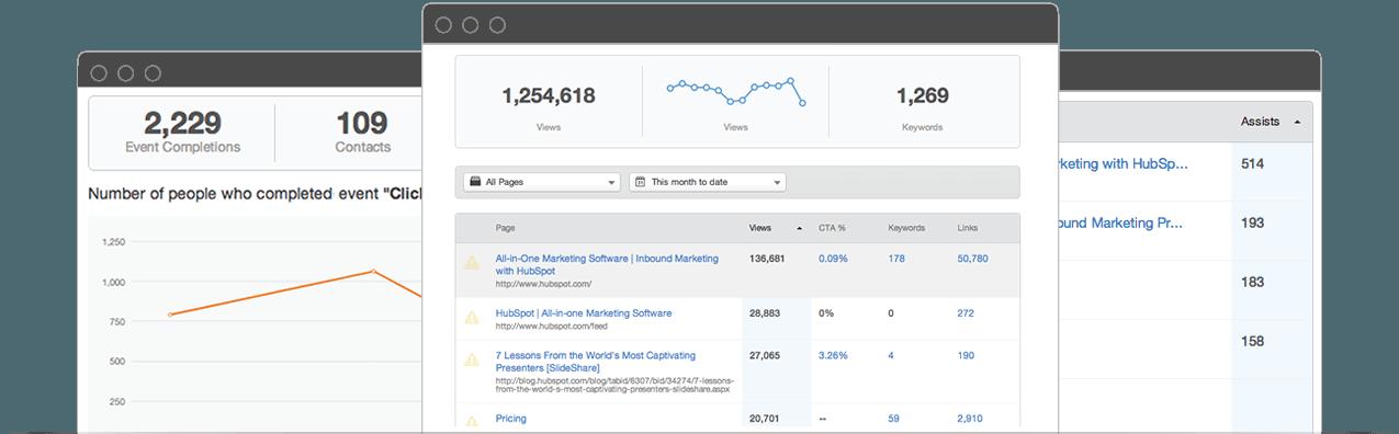 Différences entre le CMS Hubspot et Wordpress : l'outil analytique