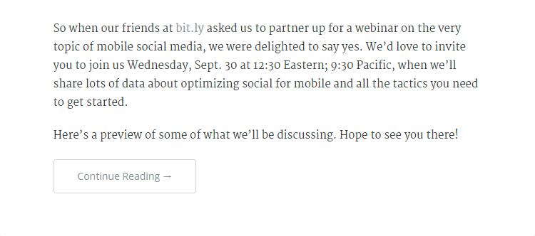 Inbound Marketing : Un call to action pour conserver les visiteurs sur son site