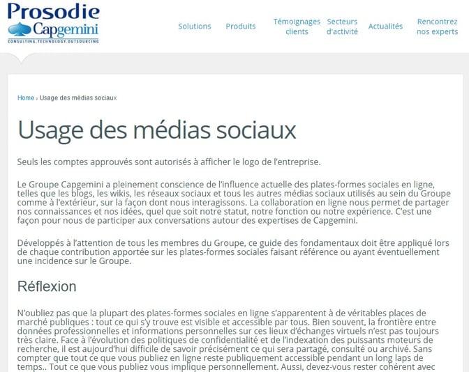 Salariés ambassadeur : prévoir une charte des réseaux sociaux
