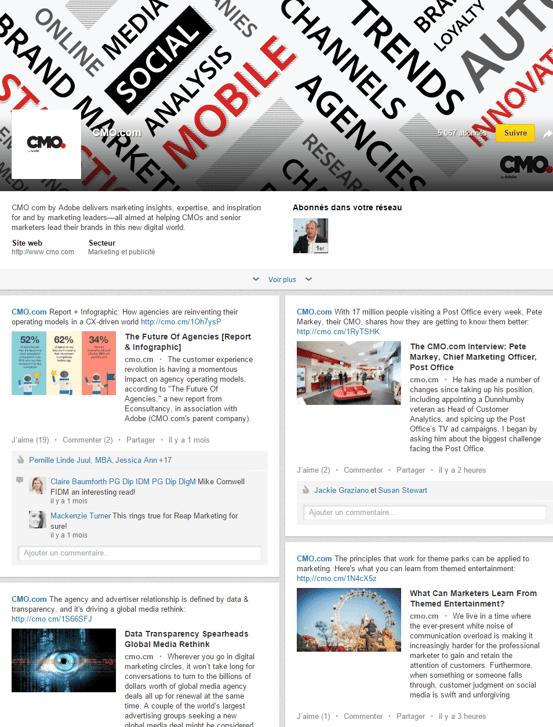 Page Linkedin : une page spéciale pour son coeur de cible