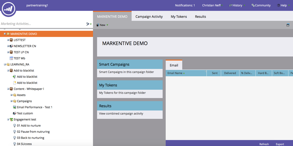 Outil marketing automation - report Marketo