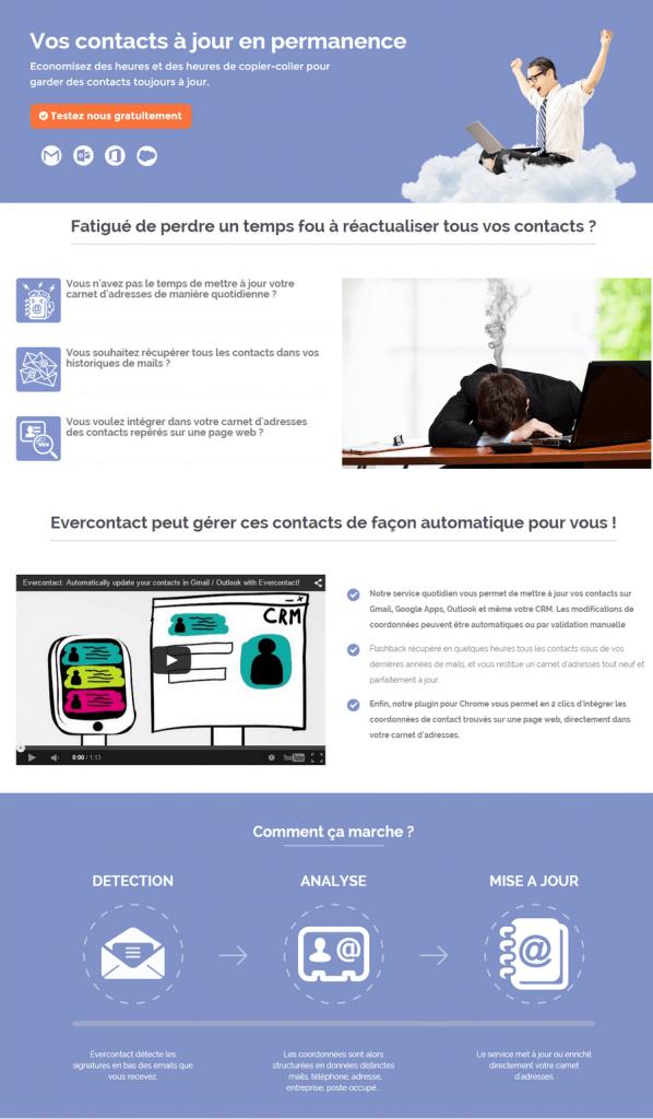 Landing page : pensez au contenu vendeur !
