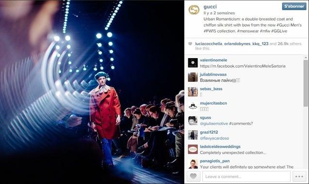 Instagram : partager en direct un événement