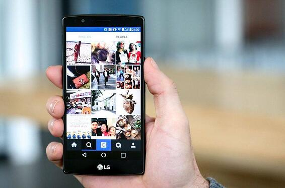 instagram smartphone android main