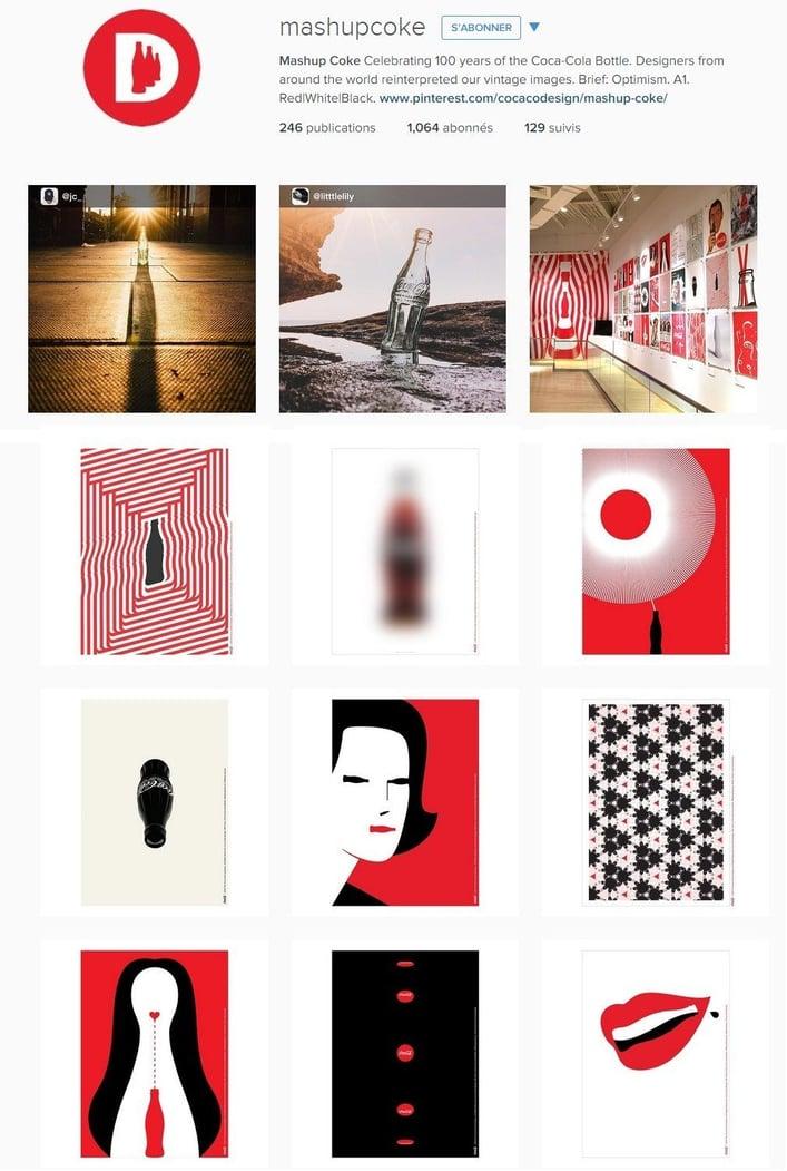 E-réputation et stratégie multicanale : un compte Instagram dédié aux 100 ans de Coca Cola