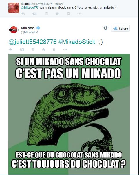 Mikado répond à ses détracteurs
