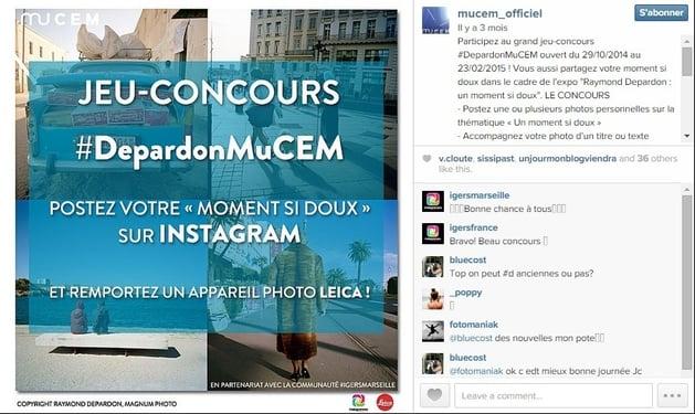Instagram : organiser un concours