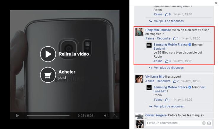 Facebook : des vidéos qui incitent à l'interaction avant le passage à l'action