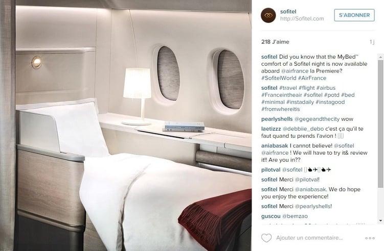 Le storytelling d'Air France inspire les autres entreprises