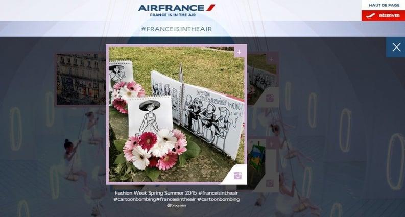 Air France fait participer les internautes