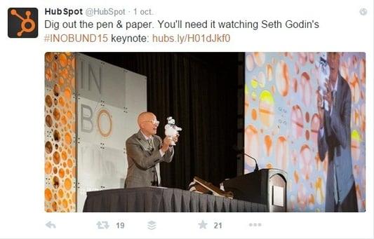 Brand Content : Twitter sert aussi à valoriser en direct ses événements