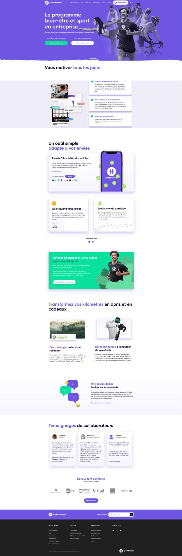 Markentive Webdesign UnitedHeroes