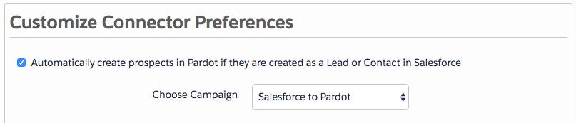 synchroniser Pardot et Salesforce