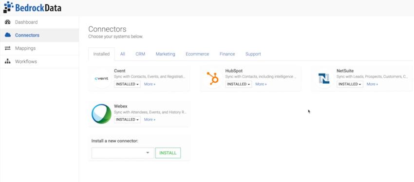 Connecter CRM et marketing automation avec Bedrock Data